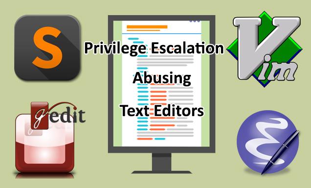 Unix Text Editors