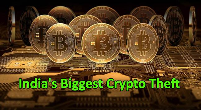 India's biggest crypto theft  - Indias biggest crypto theft - India's Biggest Crypto Theft – Hackers Stolen Bitcoins Worth Rs 20 Crore