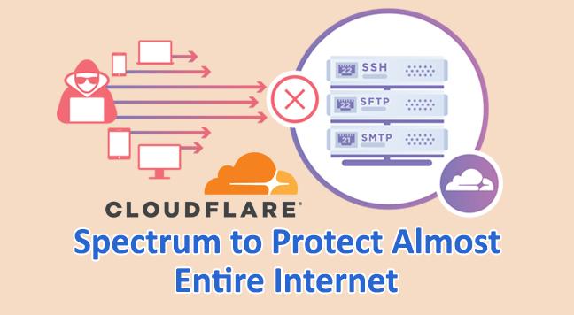 Spectrum  - Spectrum - Cloudflare Launches Spectrum to Protect Almost Entire Internet