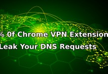 VPN Extensions leak