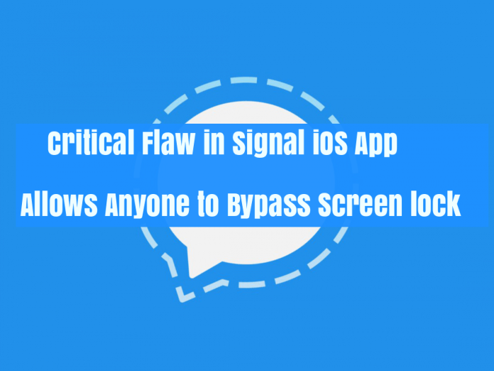 signal app  - signal app - 17 Years Old Hacker Finds Critical Flaw in Signal App for iOS