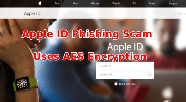 Apple Phishing Scam  - Apple Phishing Scam - Apple Phishing Scam that Threatens Users to Disclose Personal Details