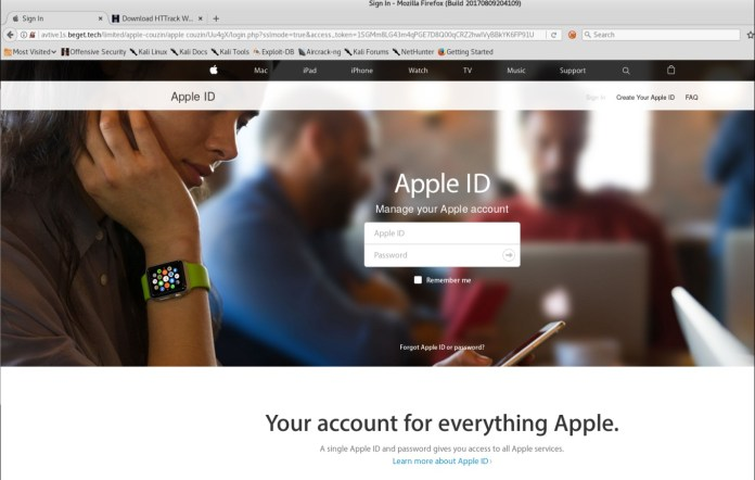 Apple Phishing Scam  - Appphish2 - Apple Phishing Scam that Threatens Users to Disclose Personal Details