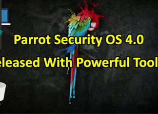 Parrot Security OS 4.0