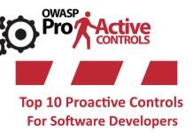Top 10 Proactive Controls