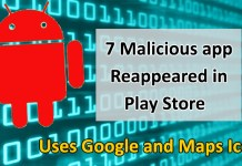 malicious apps reappeared