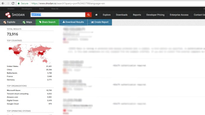 Redis servers  - Redis servers Shodan - Redis Servers Open to Internet are Infected With Malware
