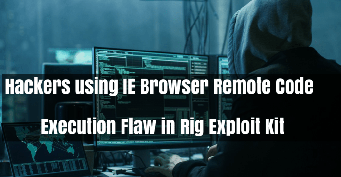 Rig Exploit Kit  - TAwjz1528094938 - Internet Explorer (IE) RCE Flaw in Rig Exploit Kit to Hack Windows PC