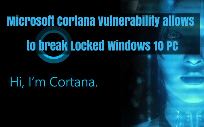Microsoft Cortana Vulnerability