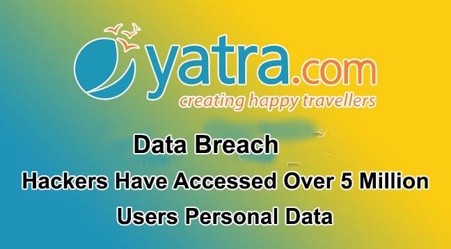 Yatra.com data breach