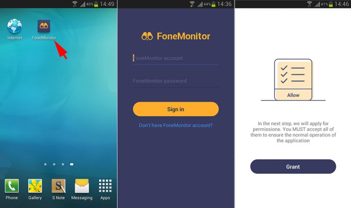 - android setup bundle3 - Most reliable Android Activities Monitor Tool