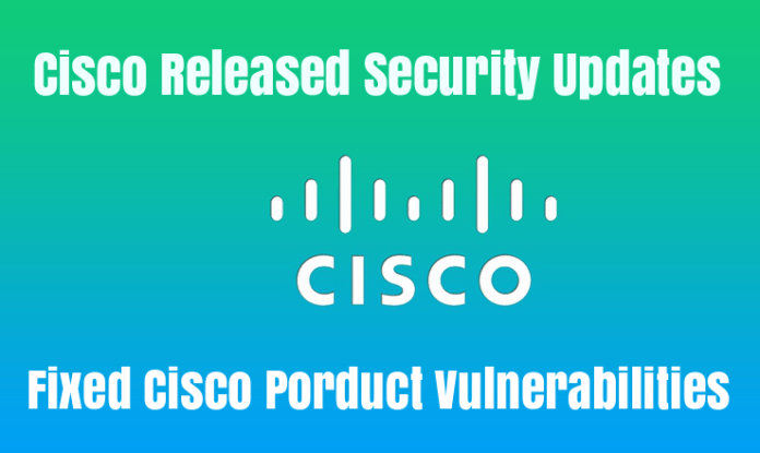 Cisco Released Critical Security Updates