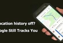 Google tracks