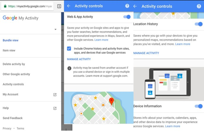Google tracks5  - Google tracks5 - Google Tracks iPhone and Android Users Location Data Even Turned Off
