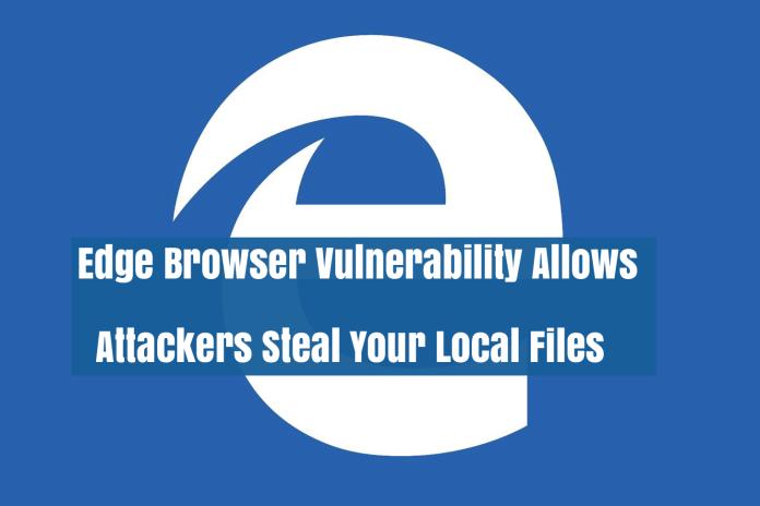 Edge Browser Vulnerability