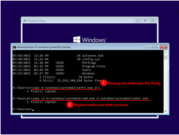 - f1 - How to Reset Admin and Login Windows Password for 10 / 8 / 7