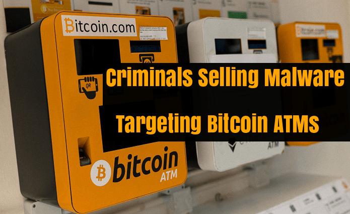 - gj5IZ1533700242 - Criminals Selling Malware's Targeting Bitcoin ATMs in the Dark Web Forums