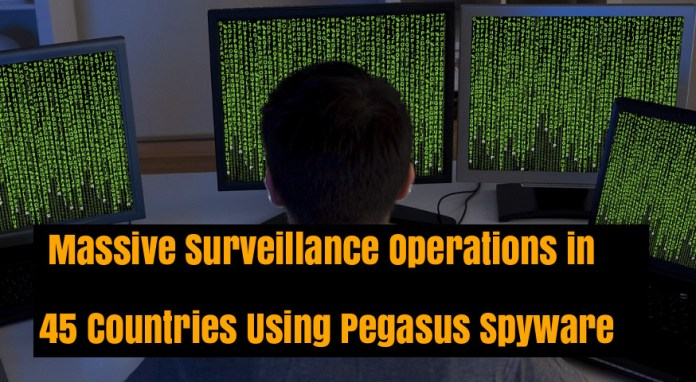 Pegasus Spyware  - CE6hy1537325776 - Pegasus Spyware Conducting Surveillance Operations in 45 Countries