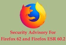 Firefox 62