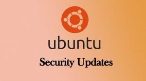 Ubuntu Released Security Updates