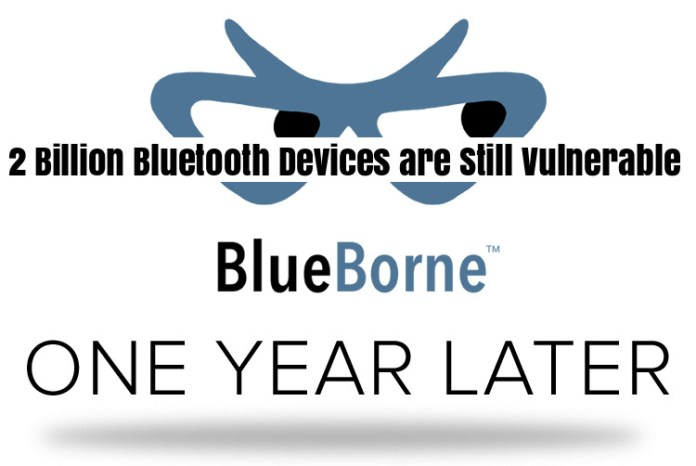 BlueBorne Attack  - YVTTp1536990739 - 2B Bluetooth Devices are Still Vulnerable to BlueBorne Attack After 1 Year