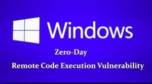 Microsoft Zero-day