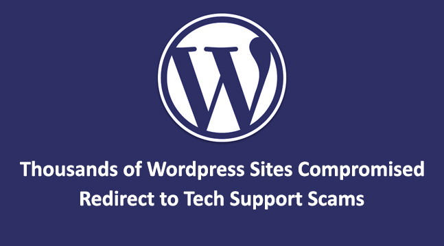 thousands of WordPress Sites  - thousands of Wordpress Sites - Hackers Compromised Thousands of Wordpress Sites