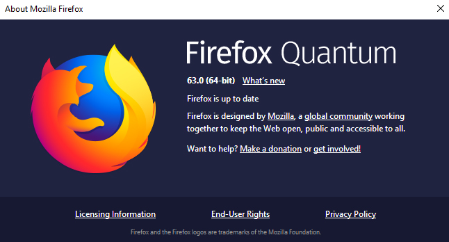 Firefox 63  - Firefox 631 - Firefox 63 Released with Enhanced Tracking Protection
