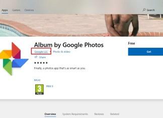 Fake Google Photos App
