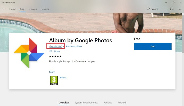 Fake Google Photos App