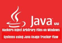Java Usage Tracker