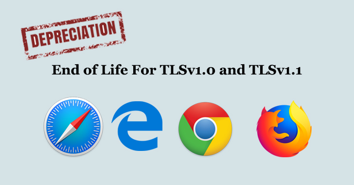 Firefox, Chrome, Edge, and Safari To Disable TLS 1.0 and TLS 1.1 in 2020