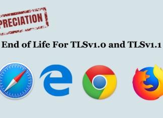 TLS 1.0 and TLS 1.1