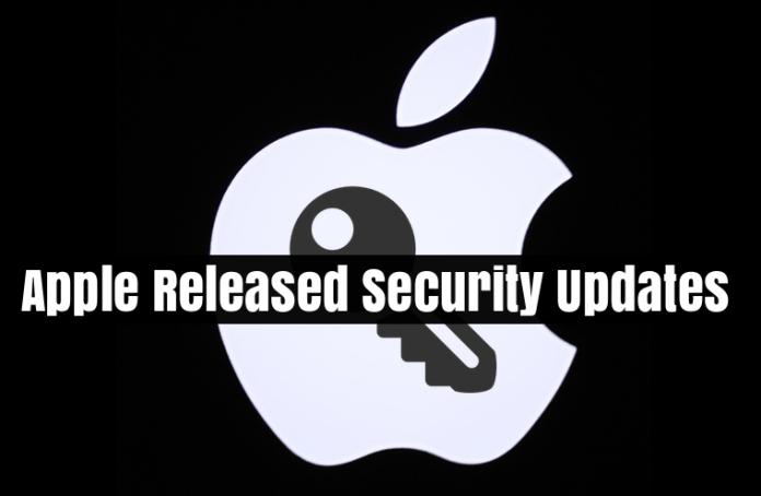 Apple Released Security Update