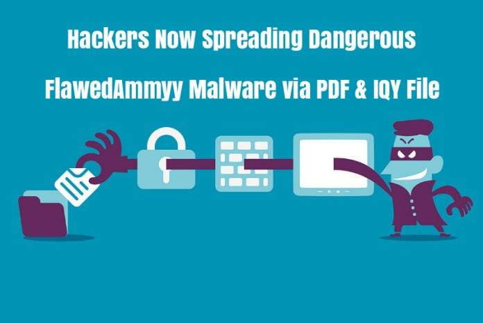 - s68OR1538962127 - Hackers Now Spreading Dangerous FlawedAmmyy Malware via IQY File