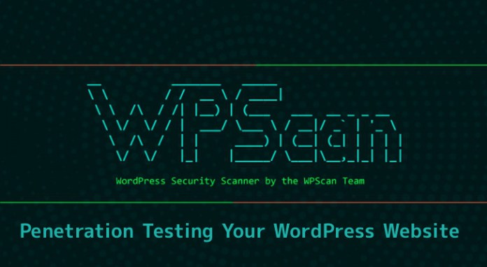 Wpscan Security Tool To Find The Vulnerabilities In
