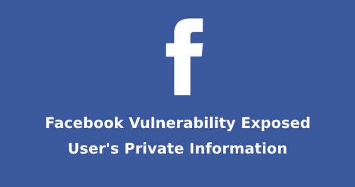 private information of facebook