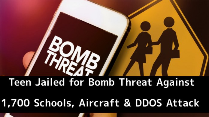 Bomb Threat  - BjKmg1544323500 - Teen Got 3 Years Jailed for Bomb Threat Against 1,700 Schools, Aircraft