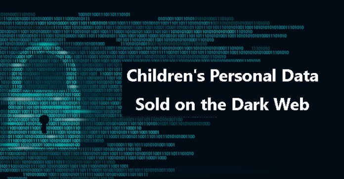 Children's Personal  - Children   s Personal - Children's Personal Data Includes Names, PNumbers Sold On Dark Web
