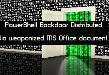 PowerShell based Backdoor