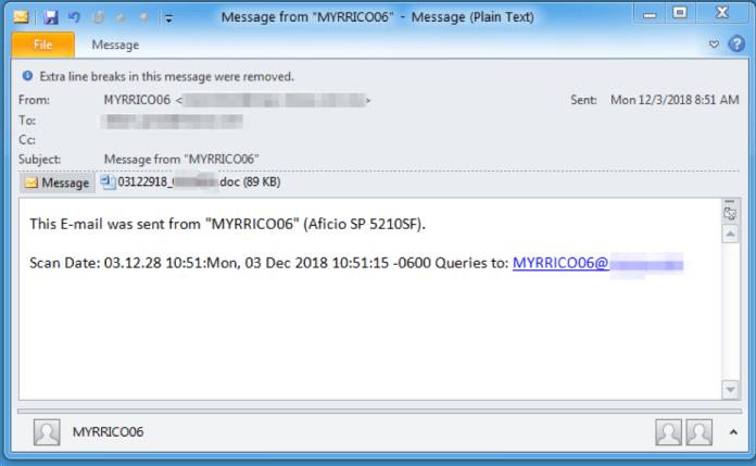 - T - TA505 Threat Actors Installing Remote Monitoring Tool via MS Word Doc