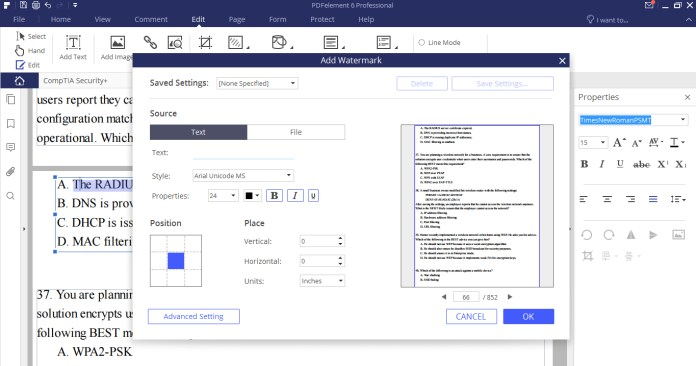 - Watermark - Top Best PDF Editor Rank 2019