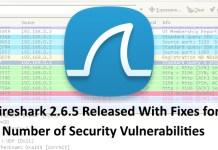 Wireshark 2.6.5