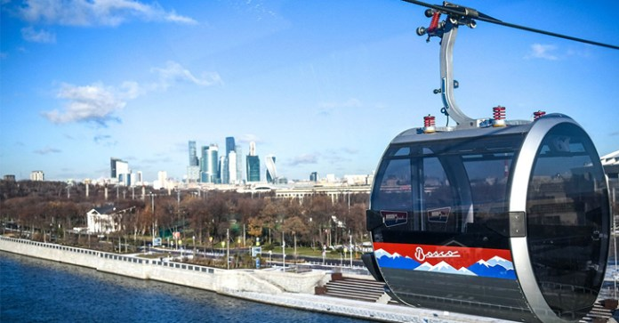 cable car system  - cable car system - Moscow's Cable Car System Hacked Within Two Hours After it Opened