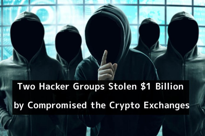 Two hacker groups  - 8CfLc1548856755 - Two Hacker Groups Stolen $1 Billion from Crypto Exchanges