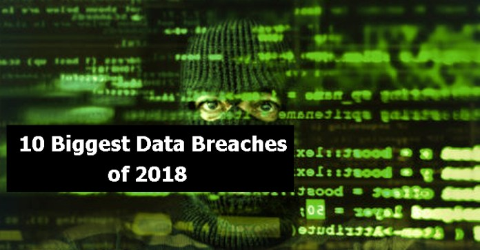 Biggest Data Breaches  - Biggest Data Breaches - The 10 Biggest Data Breaches of 2018