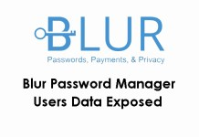 Blur Password