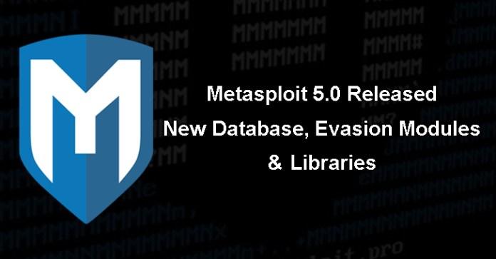 Metasploit 5.0