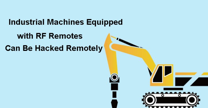 Remote controllers  - Remote controllers - Millions of Remote controller cranes Can Be Hacked Remotely